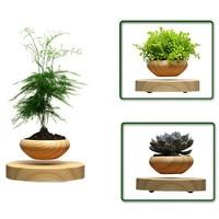 USEBER High Tech Products Magnetic Levitation Air Bonsai No Plant Ceramic Flower Small Pine Pot Culture
