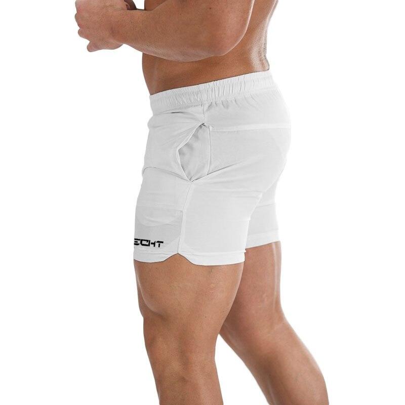 Мужские шорты из полиэстера, однотонные дышащие повседневные шорты с эластичной резинкой на талии, 4 цвета, лето 2020