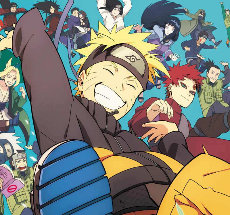 Kustom 3D wallpaper Foto wallpaper Jepang Naruto anime Anak Laki laki Kamar Tidur TV latar belakang.jpg q50