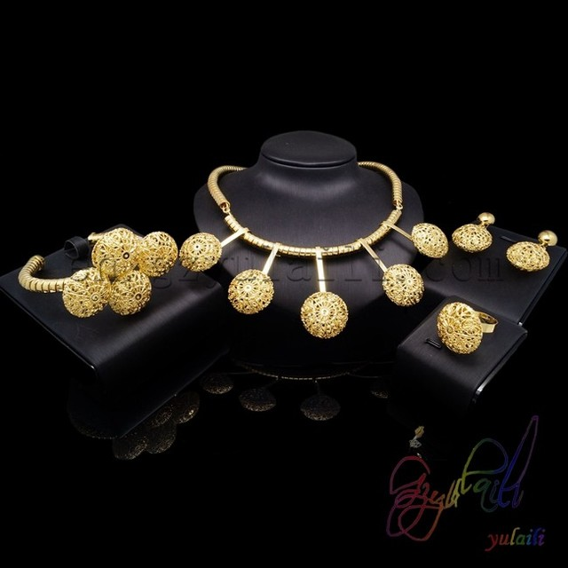 nice designer kundan necklace jewelry set rose gold plated jewelry