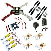 FPV Combo F450 Quadcopter Frame Rack Kit Frame APM2.8 6M GPS HW 2212 1000KV Motor ESC 30A 1045 Prop Propellers