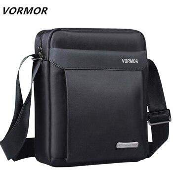48d9bea8f13e VORMOR мужская сумка 2019 Модные мужские Наплечные сумки высокого качества  Оксфорд Повседневная сумка деловая мужские сумки