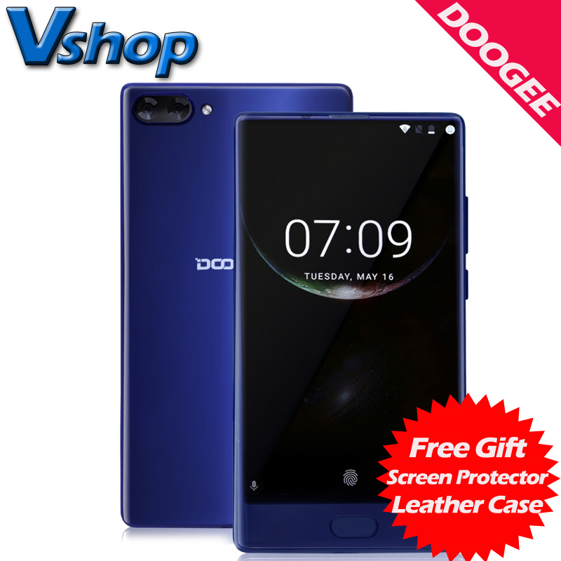 Original DOOGEE MIX 4G Mobile Phones Android 7.0 4GB RAM 64GB ROM Octa Core Smartphone 720P Dual Back Camera 5.5 inch Cell Phone