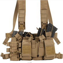 Military Tactical Hunting Vest Outdoor Airsoft Training Multi Pocket D3 Carrier Army Chest Rig Vest for Paintball Shooting cordura multicam tropic d mittsu strategic tactical d3 chest rig stg051123