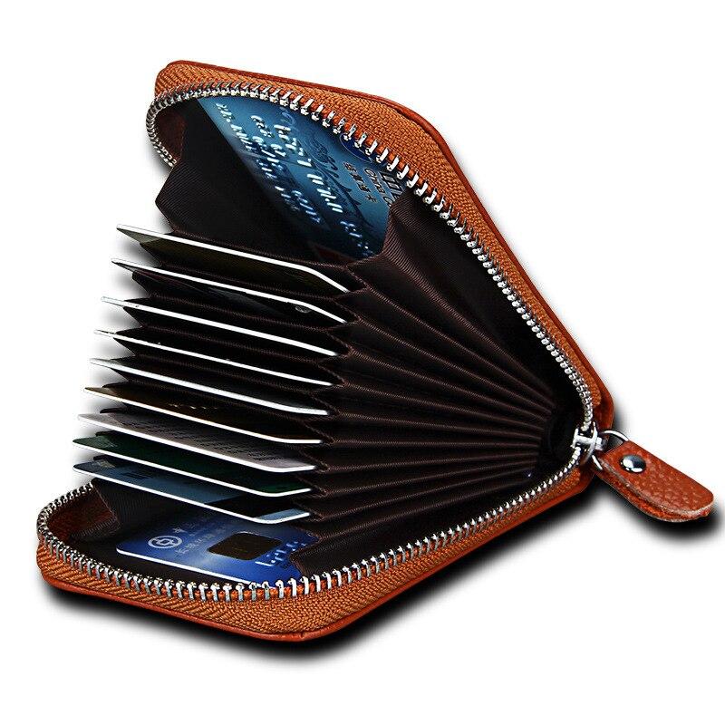 Heißer Verkauf Echtes Leder Unisex Kartenhalter Geldbörsen Hochwertigen Weiblichen Kreditkarte Halter Frauen Kissen kartenhalter Geldbörse