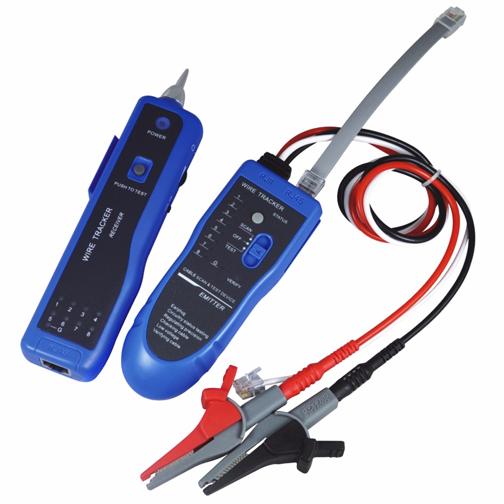 Wire Tracker Telephone Lan Cable Rj45 Rj11 Open Short Circuit Automotive Carble Traceropen Tester Car Tone Line Testing Led Light In Level Measuring Instruments From Tools On Alibaba Group