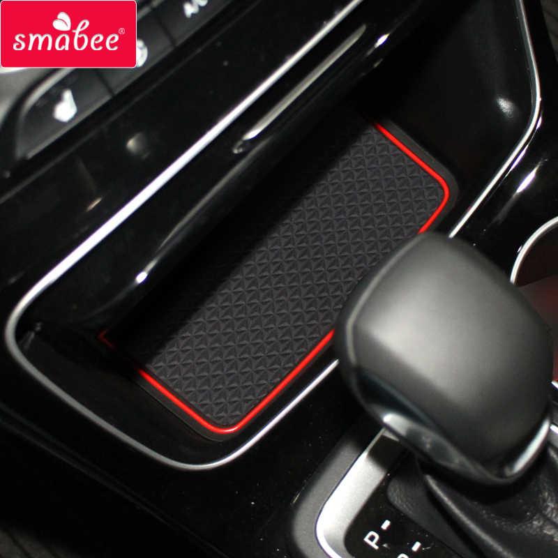 Non-Slip Anti-dust Rubber Mats 18 Pcs//Set Red YEE PIN Escape 2020 Door Gate Slot Mats Door Mats Fit for Ford Escape 2020 Center Console Liner Accessories