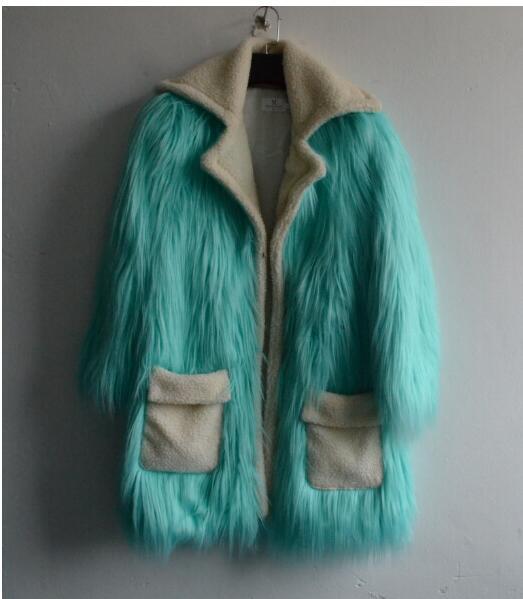 Et D'hiver 2017 Fourrure Laine Nouvelle Tempérament Manteau Imitation Gamme Automne Mode De Haut SOUwwEc5qr