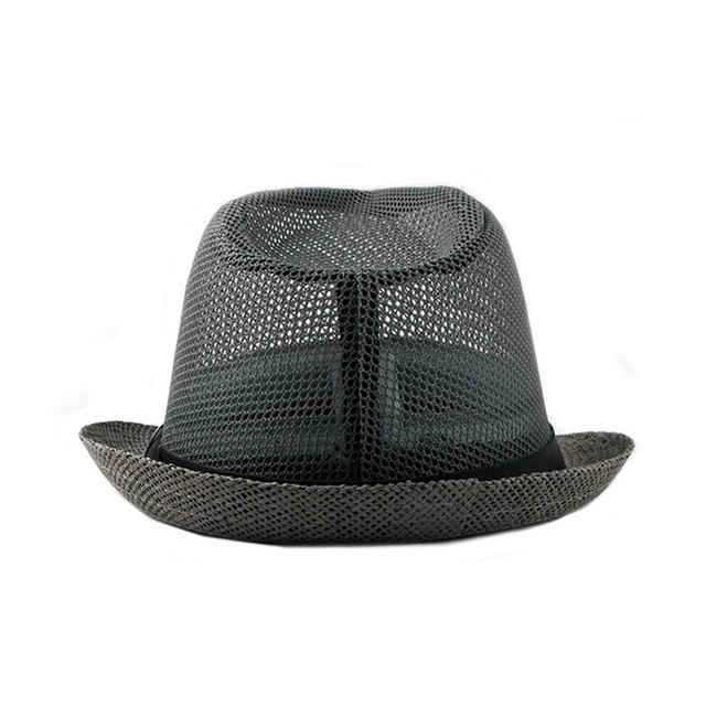 Summer Jazz Cap - Beach Straw Fedora 2
