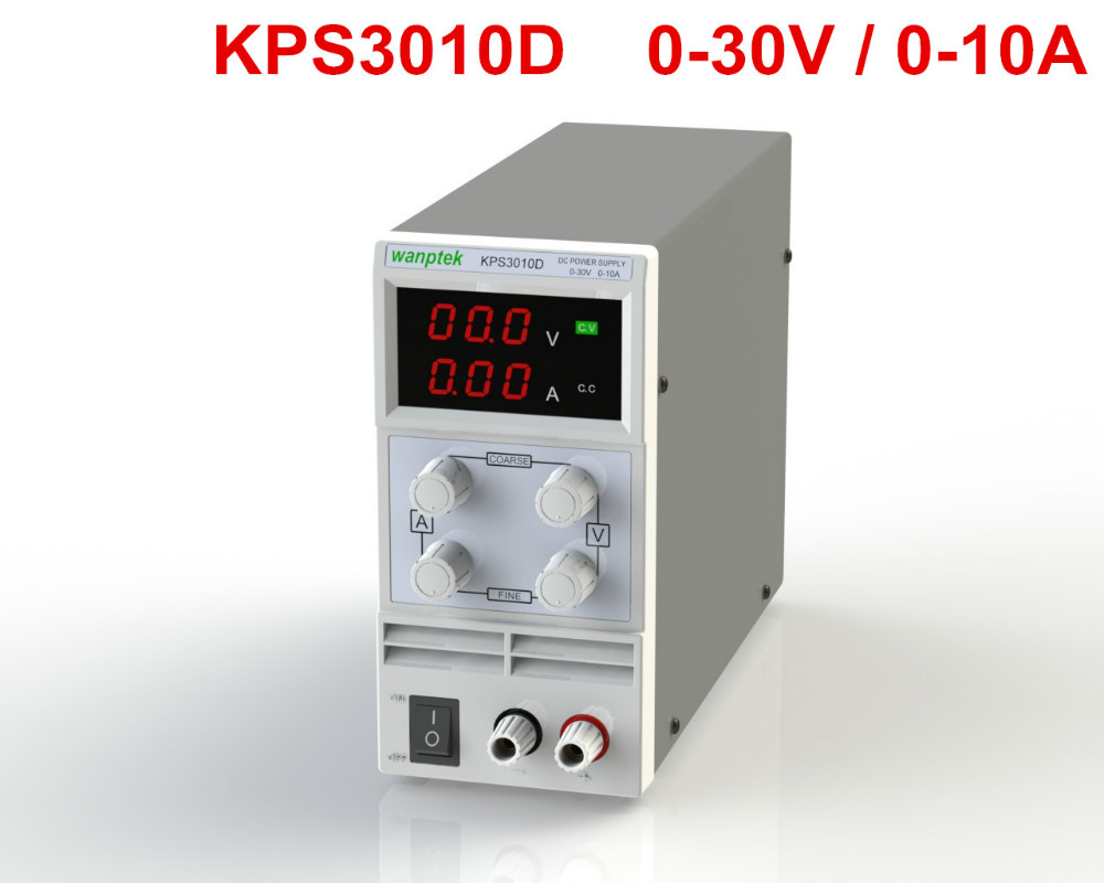 10PCS/LOT KPS3010D Mini Switching Regulated Digital Adjustable Switch DC power supply 30V 10A OCP/OTP US/EU/AU Plug free shipping new lw 3010d mini switching regulated digital adjustable switch dc power supply 30v 10a ocp otp us eu au plug