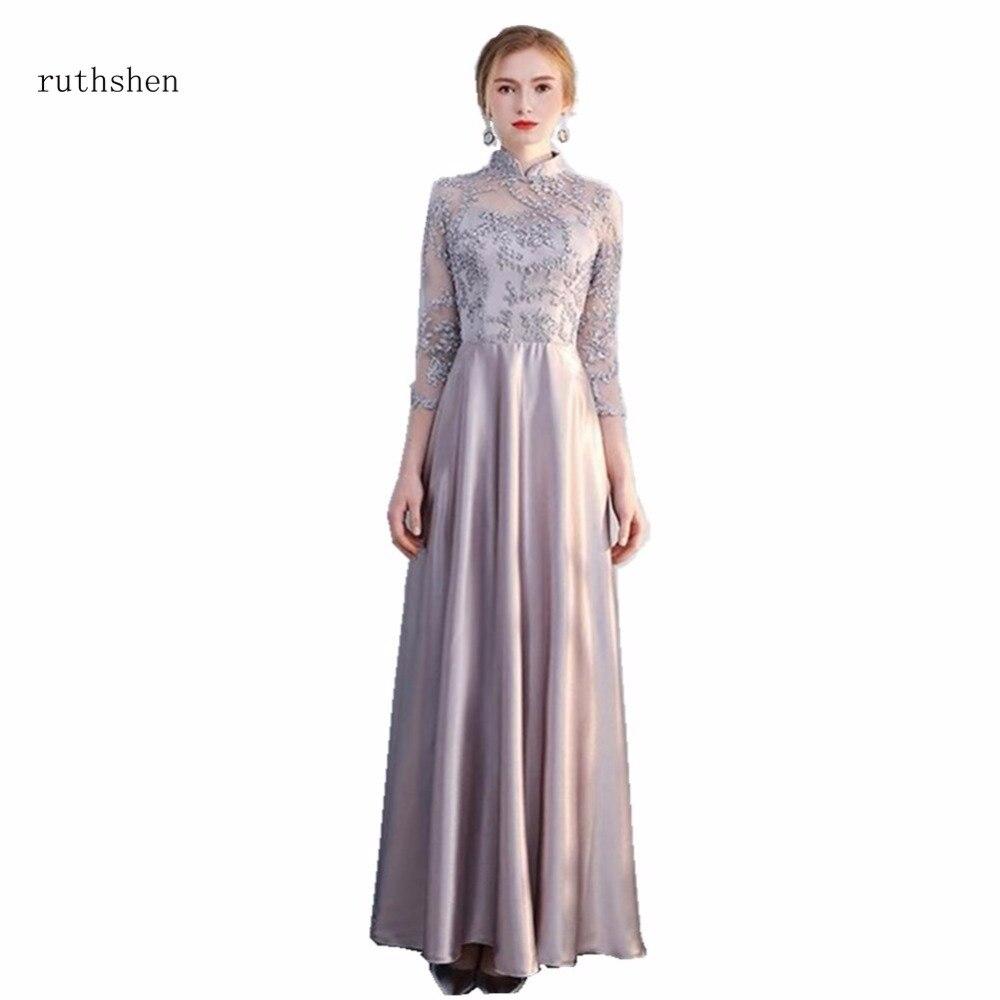 Ruthshen Mutter Der Braut Hochzeit Kleid Lange Vestido De Madre ...