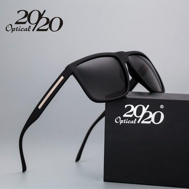 45b404fc5 20/20 Marca de Moda Preto Óculos De Sol Dos Homens Polarizados Condução  Óculos de