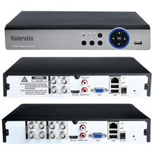 Hamrolte 5MP AHD DVR 4CH/8CH 5 In 1 HIBRID Güvenlik Kaydedici 5MP/4MP 1080 P AHD TVI CVI Analog Kamera Hareket Algılama Xmeye