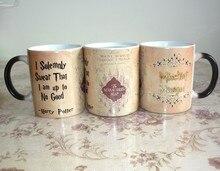 NEUE Harry Potter Marauders Map becher unfug verwaltet tasse Ich schwöre feierlich, dass ich bin bis zu gute kaffeetasse für freund geschenk