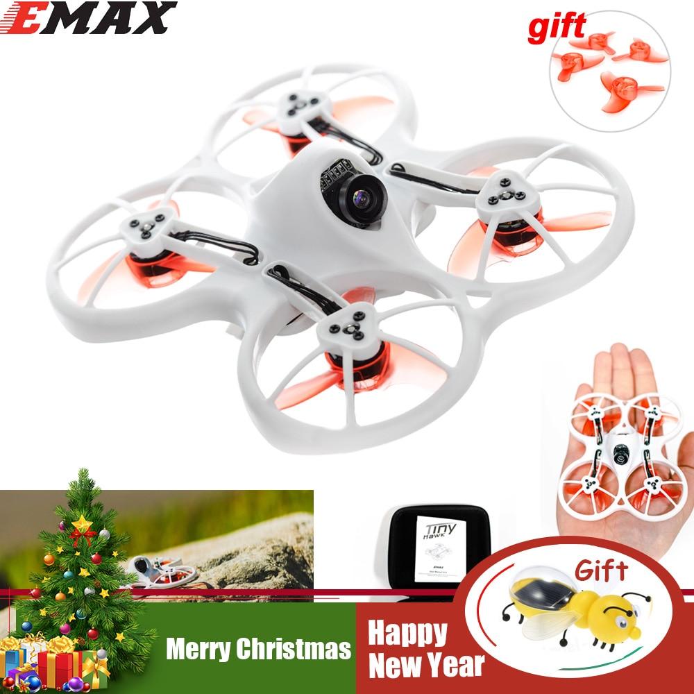 Emax Tinyhawk 75mm F4 Magnum Mini 5,8g FPV Racing Mit Kamera RC Drone 2 ~ 3 s BNF mit 2 para von 40mm propeller für geschenk