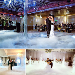 Image 5 - DJ Nebel Maschine Niedrigen Liegen 3500W Nimbus Trockenen Eis Rauch Maschine Party Hochzeit Tanzfläche Beleuchtung Dekoration Show Abgedeckt 200 m²
