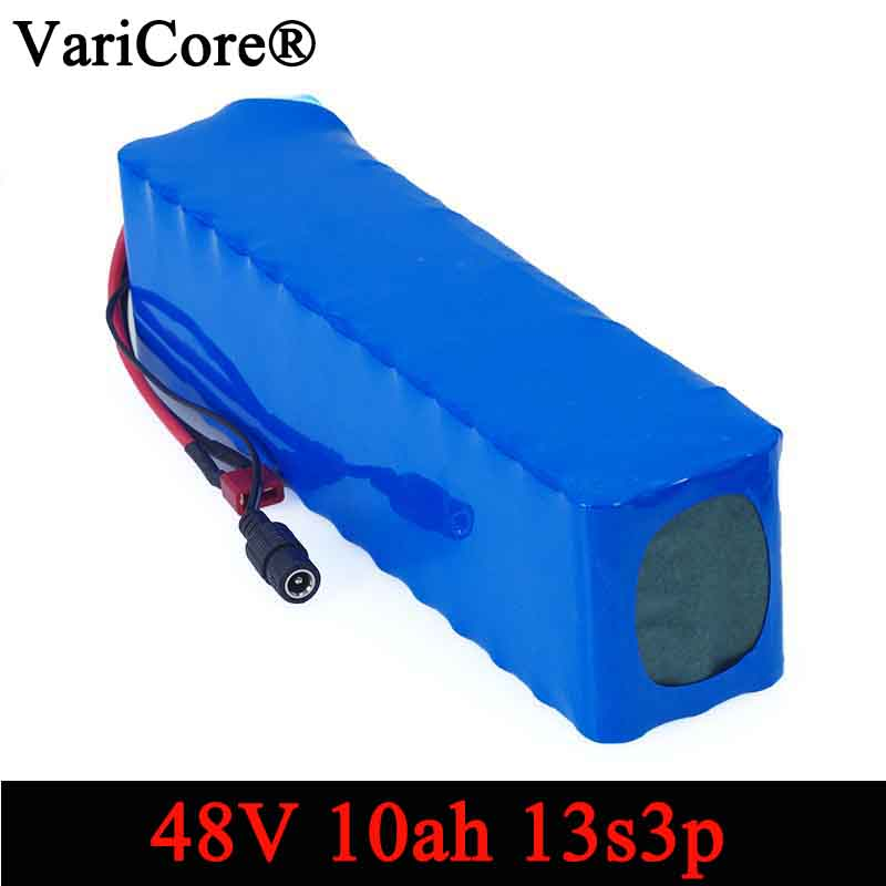 VariCore e de la batería de la bici 48 v 10ah 18650 Paquete de batería Li Ion kit de conversión de bicicletas bafang 1000 w 54,6 v DIY baterías-in Packs de baterías from Productos electrónicos    1