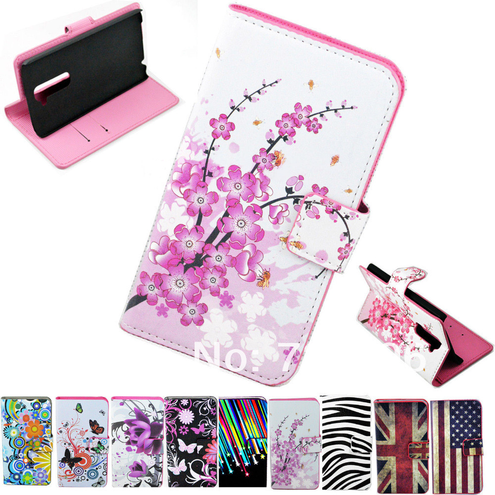 low cost 0bde2 4920a New Flower Folio ID Card Wallet Magnetic Leather Flip Cover Case W ...