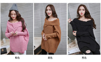 Maternity Fall Winter Funds Long Sleeved Cardigan Fashion In The Long Section Warm Coat New Personality
