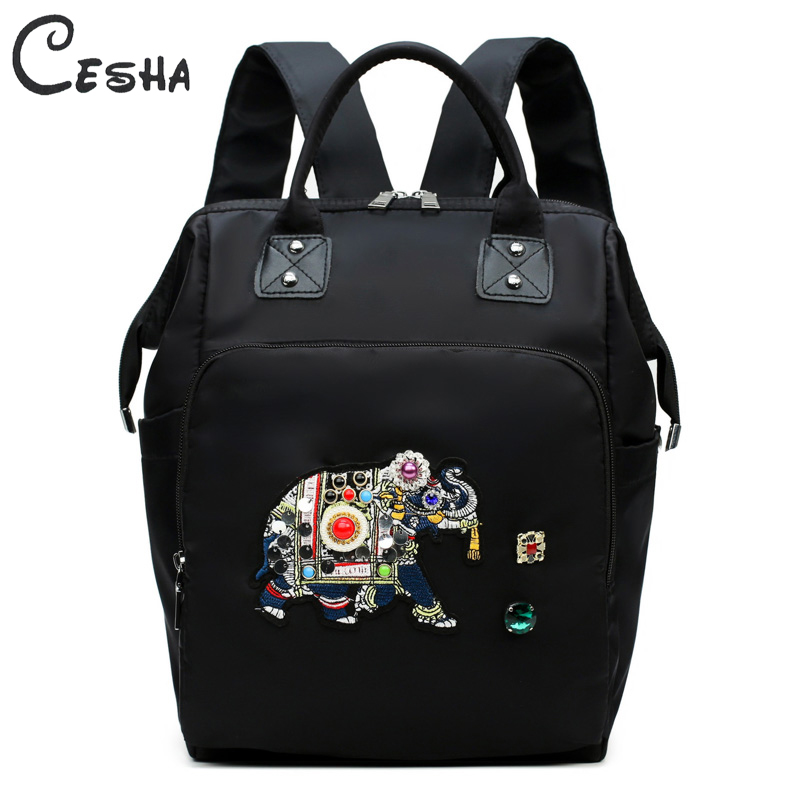 Embroidery Series Lightweight Womens Backpack Female Big Capacity Travel Backpack High Quality Waterproof Pack Bag for WomenEmbroidery Series Lightweight Womens Backpack Female Big Capacity Travel Backpack High Quality Waterproof Pack Bag for Women