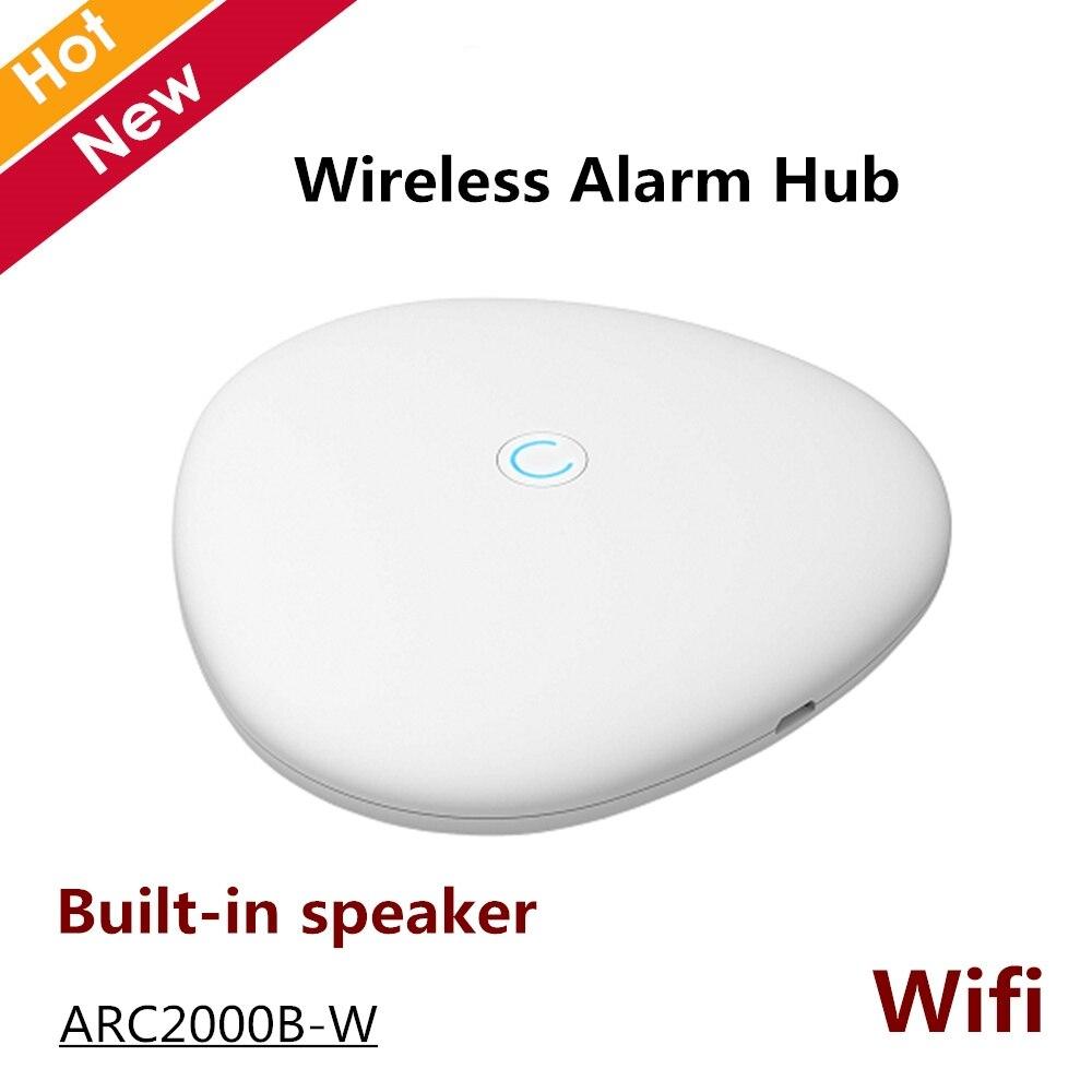 Dahua Wireless Alarm Hub ARC2000B-W 28 Wireless Detector 4 Wireless Sirens Support  Wifi Built-in Speaker Controllers
