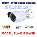 2MP IP Camera 1080P 24pcs leds HD Network CCTV IP Camera Mini Bullet Free Apps for Smartphone Android IOS P2P ONVIF2.0 H.264