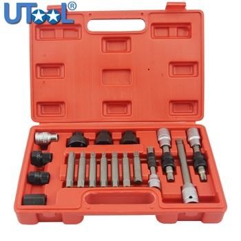 18pcs Alternator Repair Tool of Alternator Freewheel Pulley Puller Removal Socket Tool Kit gavr 15b for alternator 15b alternator avr