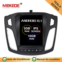 MEKEDE Tesla style 10.1'' IPS screen Android 8.1 car gps navigation audio for Ford Focus 2012 2017 Auto radio stereo headunit
