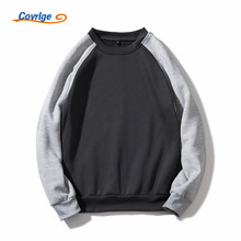 Covrlge 2018 Brand Men Casual Hoodies Sweatshirt New Autumn Solid Color Fleece Polyester Pullover Coat Warm Male MWW132