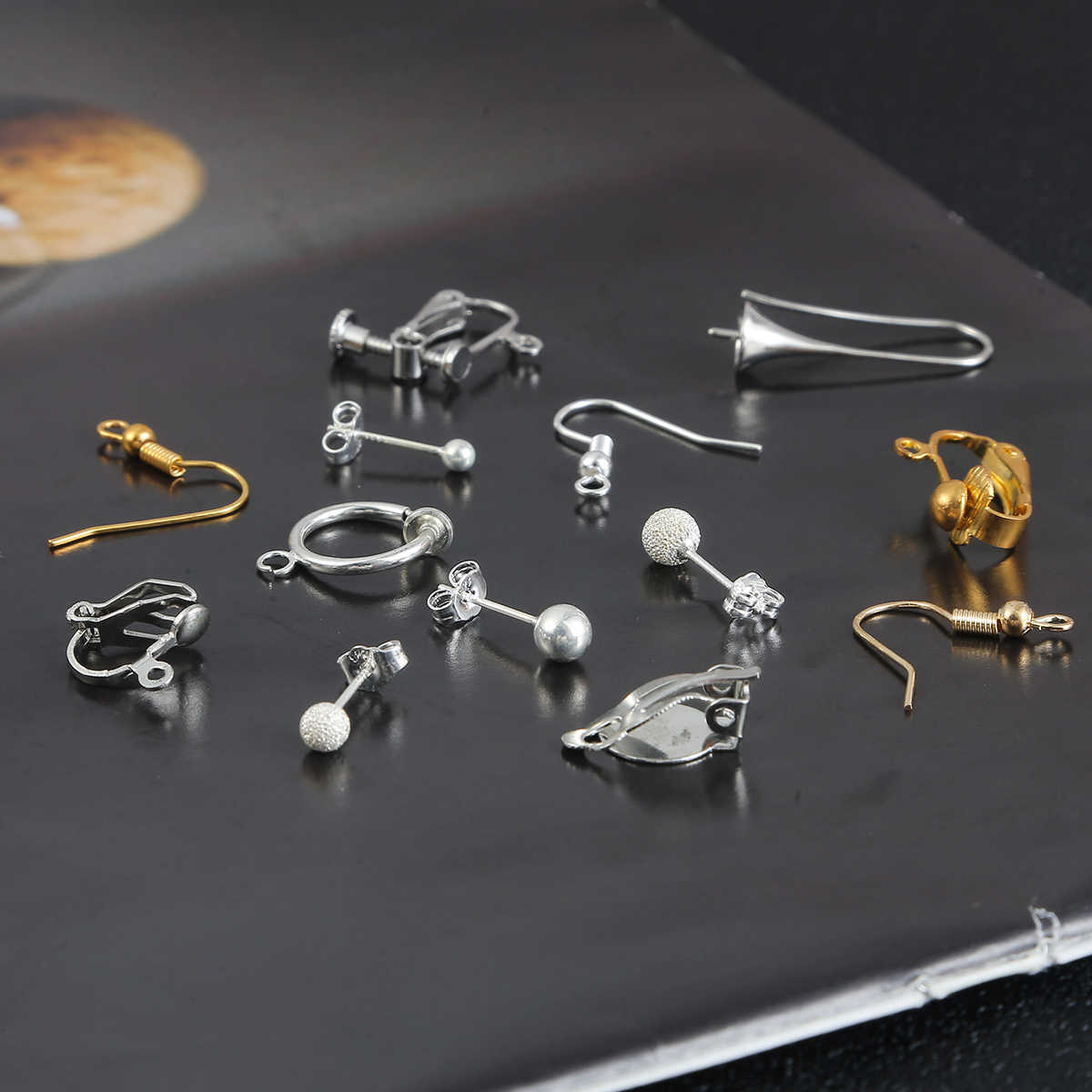 DIY Earring Findings Pins Clasps Hooks Fittings for DIY Jewelry Making Accessories Hook Ear wire Jewelry Connectors