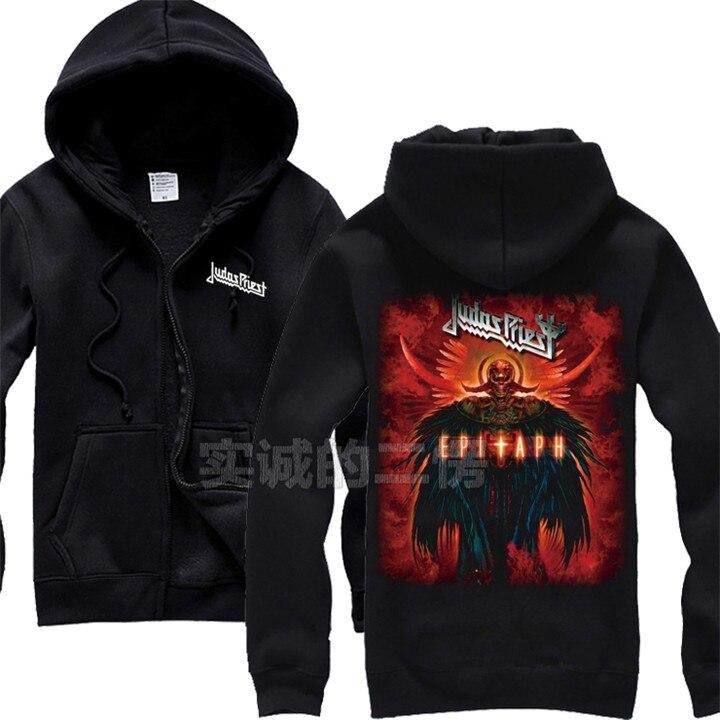 12 видов крутых клинок Judas Priest Rock черная толстовка с капюшоном в виде ракушки куртка Панк Череп Демон металлический свитшот на молнии Sudadera 3d принт - Цвет: 6