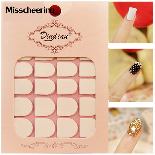 5pcs Nail Adhesive Tape Double Side Glue Transparent Nail Sticker,Strong Sticky for False Nail Tips Nail Rhinestone Tool-in Stickers & Decals from ...