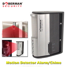 Dober Sicherheit Motion Sensor Home Security Alarm Sensor Detektor Infrarot Motion Alarm Chime IR Türklingel Alarm Willkommen Chime