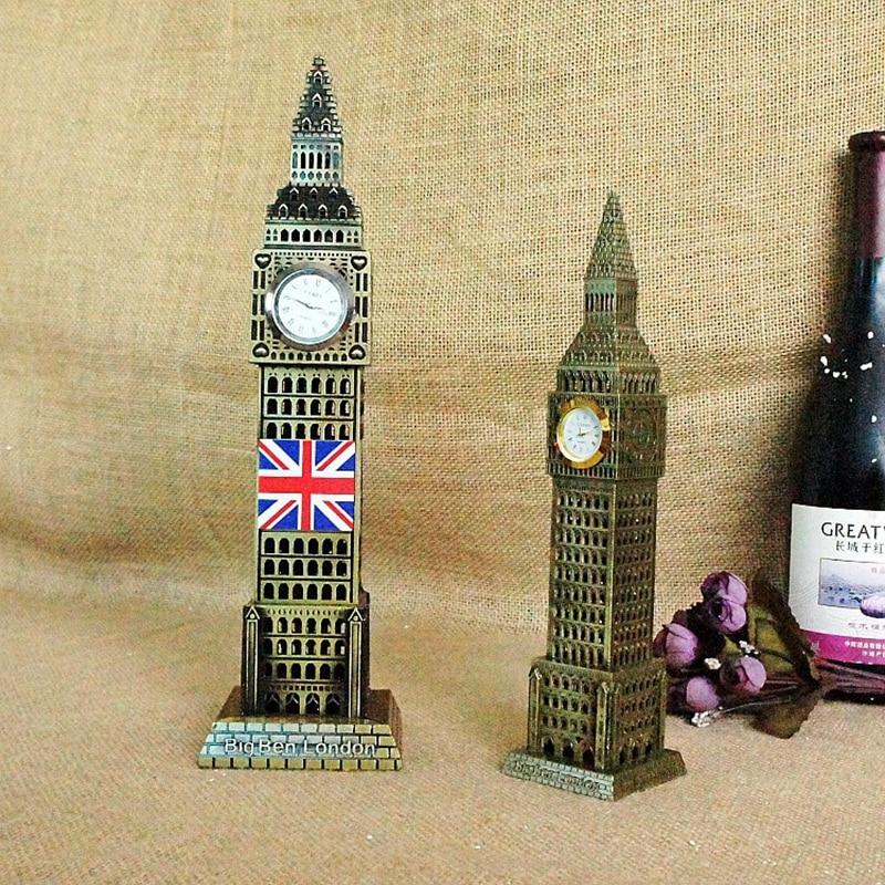 Londra Big Ben Statua Souvenir Regalo Della Decorazione Della Casa Creativo 2 Size Big Ben enfeites para casa decoracao Bambini Regali Di Compleanno