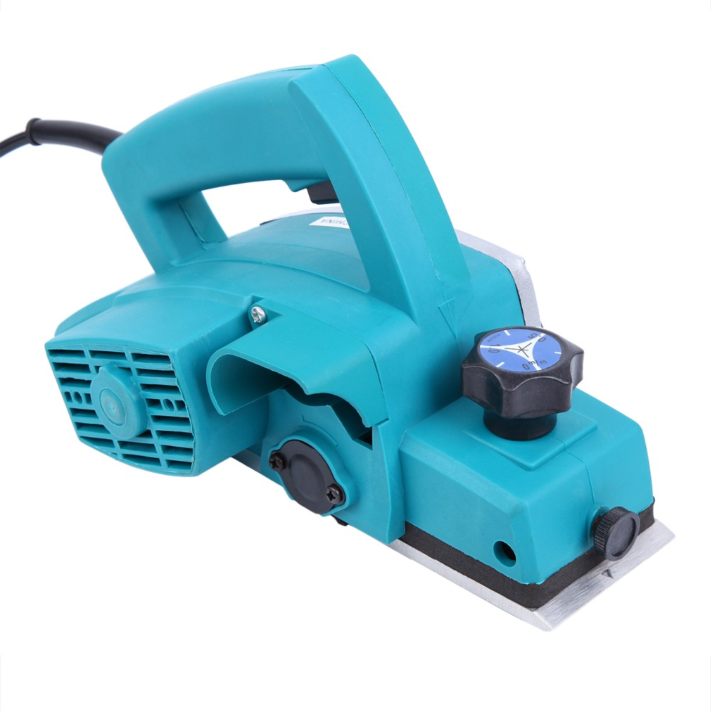 (Expédier de nous) 800 w puissant rabot à bois électrique 3-1/4 pouces Surface de travail du bois Machine à bois professionnelle - 3