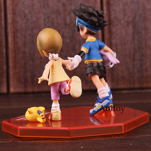 Image 5 - อัญมณีผจญภัยDigimon MonsterดิจิตอลTaichi Yagami Koromon Hikari Yagami Nyaromon PVC Action Figureของเล่นสะสม