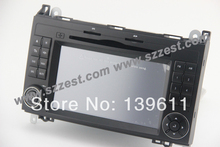 ZESTECH Free Shipping Car DVD for Mercedes Benz B Class W245 Viano Vito GPS Navigation RDS Radio Bluetooth IPOD Canbus