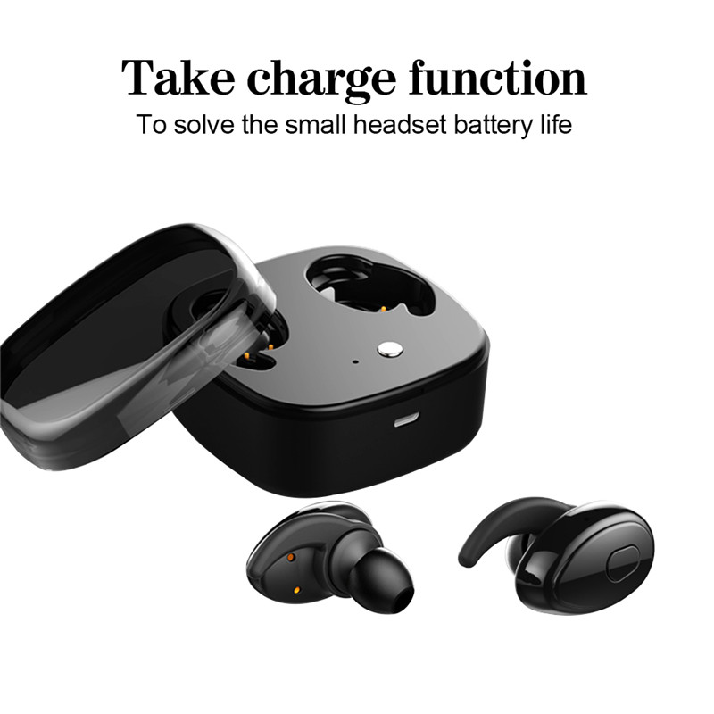 TTLIFE Mini Fone De Ouvido Bluetooth Headphone Bluetooth 4.1 Earphones Earbuds Headset Wireless for Computer Xiaomi Phone wireless earphone stereo earbuds fone de ouvido headset for iphone samsung xiaomi invisible small mini bluetooth headphone