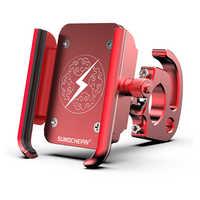 Nouveau vtt vélo de route Support pour téléphone alliage d'aluminium 360 degrés Rotation vélo Mobile porte-téléphone Support de Support