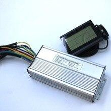 800W 1000W 35Amax 48V Borstelloze Dc Motor Controller Ebike Controller + KT LCD3 Display Een Set
