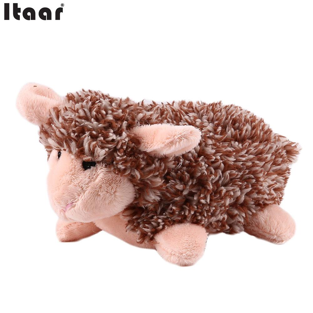 Kids Children Plush Toys Hedgehog Sheep With Sound Soft Comfort Lovely