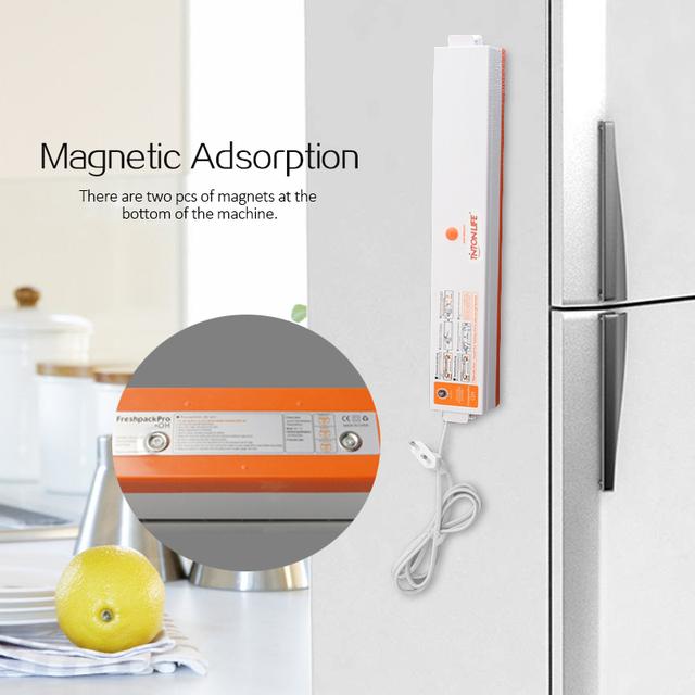 TINTON LIFE 220V/110V Household Food Vacuum Sealer Packaging Machine Film Sealer Vacuum Packer Including 15Pcs Bags Free