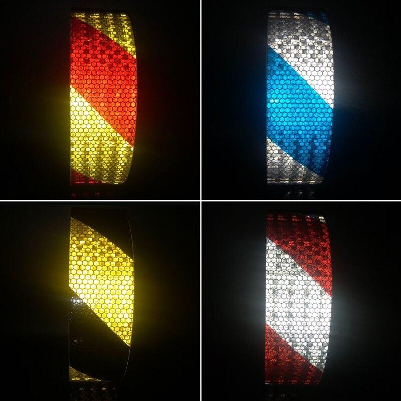 5cmx30m Reflector Sticker Car Sticker Cycling Wheel Rim Reflective Stickers Reflective Film Stickers