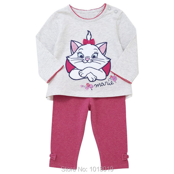 New 2017 Brand Quality 100% Cotton Baby Girls Clothing Sets Long Sleeve 2pc Children's Suit Baby Girls Clothes Set Girls Outwear детское белье infinity kids трусы детские для девочек 3 шт edit