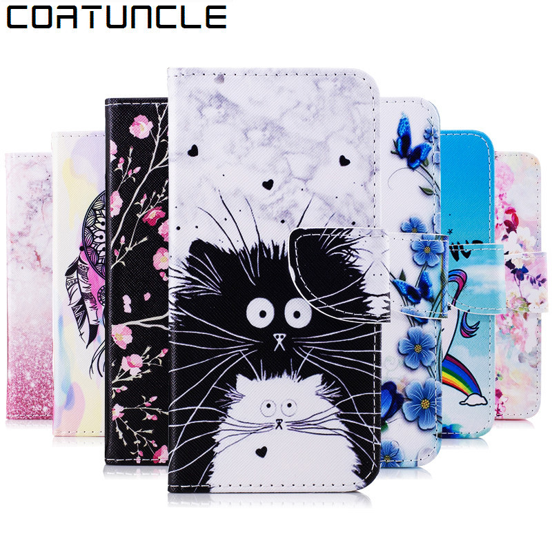 A6 2018 Case on For Coque Samsung Galaxy A6 2018 Case For Funda Samsung A6 Plus 2018 Case Cover Wallet Flip Leather  Phone Cases