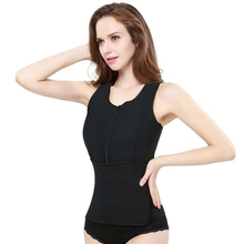Neoprene Vest Women Slimming Waist Hot Body Shaper Tops Fashion Shapewear