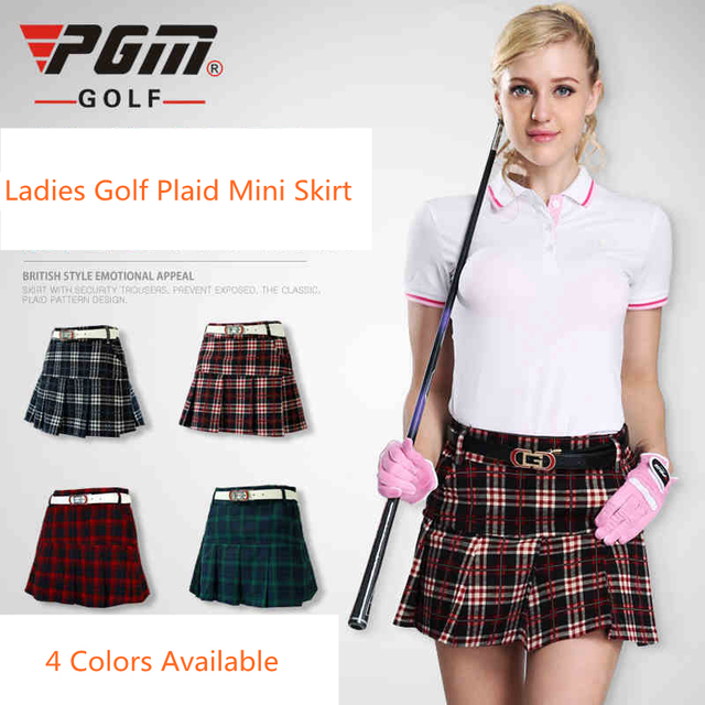 Aliexpress.com : Buy Ladies Womens Golf Skirt Plaid mini short ...