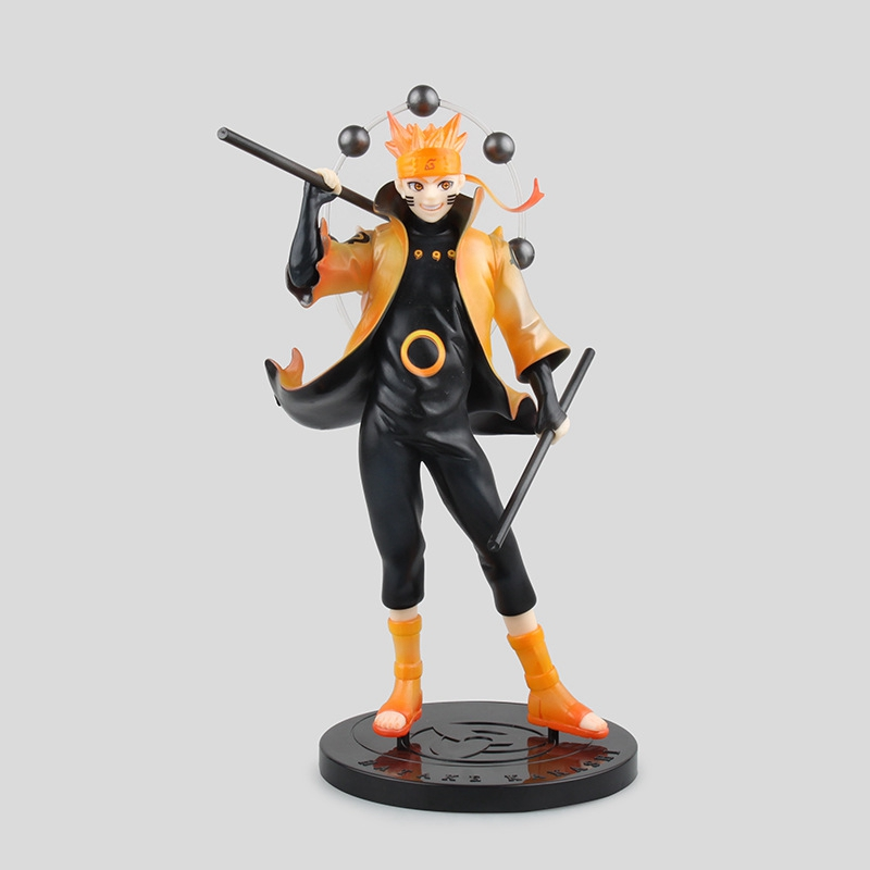 Anime Figurine Naruto Shippuden Uzumaki Naruto PVC Action Figure Model Toy 22cm Shippuden Six Sennin Rikudo Quality Assurance naruto action figures kyuubi resin 230mm collectible model toy anime naruto shippuden uzumaki naruto kyuubi modo