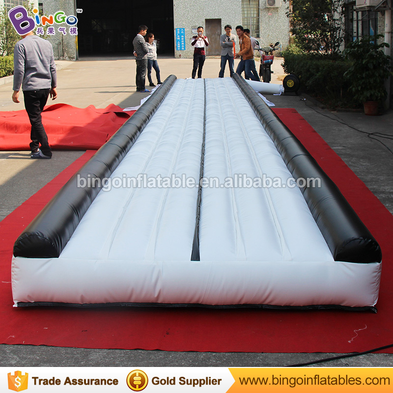 12 Meters Long inflatable gymnastics Tumbling mats from airtrack factory