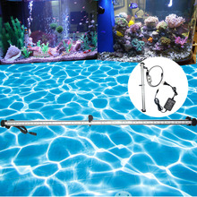hot deal buy 99cm decorate fish tank light led for aquarium led lighting fixtures marine back light in the aquarium led lamps with controller